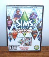 NEW The Sims 3 PLUS Seasons PC DVD Base Game & Expansion Pack SEALED Windows Mac in Morris, Illinois