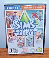 NEW The Sims 3 Expansion Bundle PC DVD 2 Game In 1 World Adventures Generations in Morris, Illinois