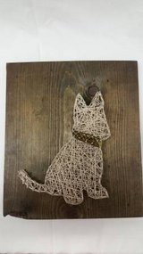 """""""my little dog"""" String Art Wall Hanging in Naperville, Illinois"""