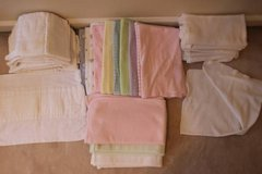 Huge lot of receiving blankets and burp cloths in Fort Belvoir, Virginia