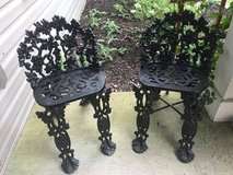ANTIQUE CAST IRON CHAIRS in Oswego, Illinois