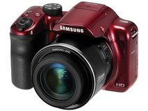 Samsung WB1100F Red 16.2 Megapixel 35X Optical Zoom Smart Digital Camera in Bolingbrook, Illinois