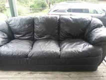 Leather Couch & Loveseat in Cleveland, Texas