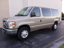 2008 Ford E350 Econoline XLT, 5.4 V8, 12 Passenger Wagon, Ice Cold A/C in Cherry Point, North Carolina