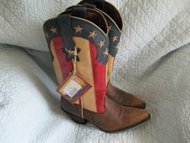"Durango Boot Women's   DRD0060 12"" Stars and Stripes Crush Dark Brown in Bartlett, Illinois"