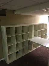IKEA Shelving Units (2) and Desk in Naperville, Illinois