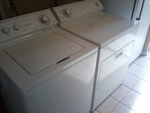 Matching Whirlpool Washer-Dryer For Sale in Lawton, Oklahoma