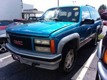 ONE OWNER Garage Kept 1992 GMC Yukon GT 2dr 4x4 in Showroom Condition! in Cherry Point, North Carolina