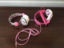Colorful PB Teen Headphones - 2 Styles for Girl, 1 for Boy in Batavia, Illinois