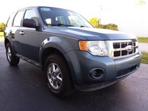 '12 Ford Escape 2wd 4 Cylinder 5-Speed Manual, Ice Cold A/C, Great MPG in Cherry Point, North Carolina