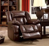 New! Brown Power Assist Bonded Leather Chair Recliner FREE DELIVERY in Vista, California