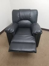New! Black Bonded Leather Chair Recliner FREE DELIVERY in Vista, California