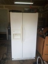 Kenmore side by side refrigerator- White *Price reduced* in Quantico, Virginia