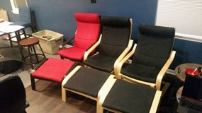 Reclining Chair and Ottoman Set of 2 $25 each in Vista, California