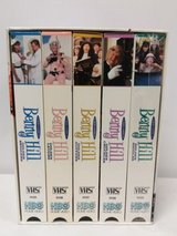 Benny Hill The Golden Laughter Series TV Vintage 1997 VHS Box Set of 5 (3 Brand New Sealed) in Joliet, Illinois