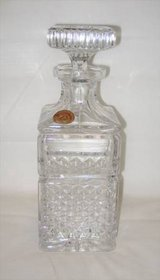 BEAUTIFUL VINTAGE 24% Lead Crystal Decanter - West Germany in Joliet, Illinois