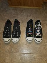 Women's Black Designer Converse All-Stars - LIKE NEW CONDITION in Quantico, Virginia
