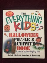 The Everything Kids Halloween Puzzle & Activity Book in Chicago, Illinois