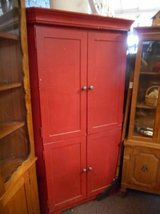 Red Corner Cabinet in Elgin, Illinois