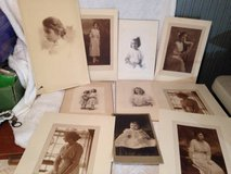 Lot of Old Black white Photos Studio Portraits Children Family in Fort Campbell, Kentucky