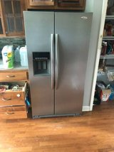 Energy Star Whirlpool 25.6 Cu Ft Side X Side Stainless Refrigerator - in Fort Campbell, Kentucky