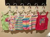 NEW TODDLER GIRL SET OF SIX SUMMER TOPS in Sandwich, Illinois