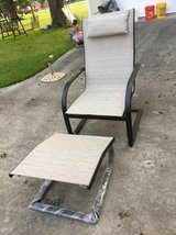 CHAIR AND OTTOMAN -have not been used - FOR PATIO in Warner Robins, Georgia