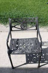 Cast Iron Patio Chair in Houston, Texas