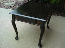 END TABLE WITH DRAWER - CAN BE REFINISHED in Shorewood, Illinois