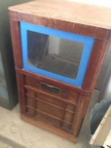 1950s(?) GE TV Cabinet in Lackland AFB, Texas