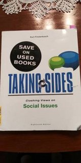 Taking Sides: Clashing Views on Social Issues by Kurt Finsterbusch in Tacoma, Washington