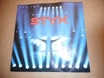 Vintage Styx Mr Roboto / Snowblind Vinyl 45 RPM Record w Picture Sleeve in Plainfield, Illinois