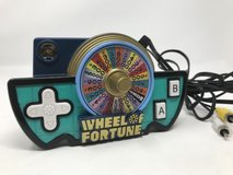 Jakks Pacific Wheel of Fortune Game Show Plug n Play TV Game in Chicago, Illinois