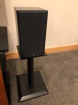 Klipsch Icon Series WB-14 Bookshelf speakers with stands in Batavia, Illinois
