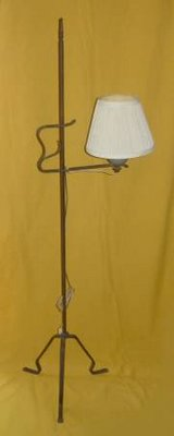 Antique 1930's Iron Floor Lamp in Chicago, Illinois