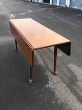 Long Wooden Drop Leaf Table in Camp Lejeune, North Carolina