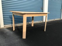 Light Wood Rectangle Dining Table in Camp Lejeune, North Carolina