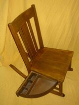 Vintage Sewing Rocker w/ Swing Drawer in Schaumburg, Illinois