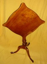 "Antique Tilt-Top 18""x18"" Accent Table in Chicago, Illinois"