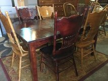 Dining Table and Six Chairs - Delivery Available in Fort Lewis, Washington