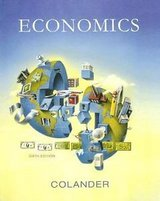 economics by david c. colander & course work for und econ 101, 201, & 202 avail in San Diego, California
