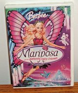 NEW Mattel Barbie Mariposa and Her Butterfly Fairy Friends DVD w Bonus Features in Joliet, Illinois