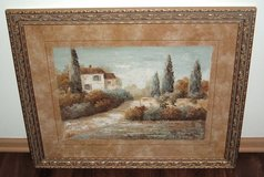 Vivian Flasch Tuscan Blue I Matted Framed Painting Print Italian Landscape Art in Morris, Illinois
