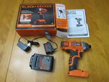 BLACK+DECKER 20-Volt Max Lithium Impact Driver (new) in Columbus, Georgia