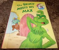 Vintage 1998 The Grinch Meets His Max The Wubbulous World of Dr. Seuss Hard Cover Book in Shorewood, Illinois
