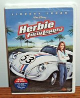 NEW Disney Herbie Fully Loaded DVD '63 VW White Racing Beetle The Love Bug Sequel NASCAR in Joliet, Illinois