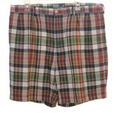 Mens 38 Ralph Lauren Polo TYLER Pleated Plaid Shorts Mens 38 x 8 in Chicago, Illinois