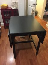Black Ikea Dining Table $75 OBO in Brockton, Massachusetts