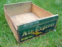 Antique Air Express Wood Crate in Chicago, Illinois
