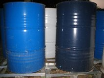 55 Gallon Steel Drums / Barrels For Wood Stove / Burn / Grill Smoker in Chicago, Illinois